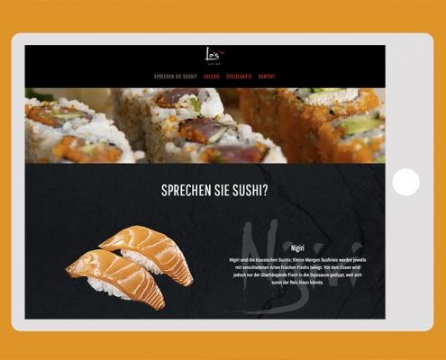 www.le-sushibar.de Webseite