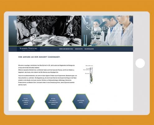 www.schmeil-stiftung.de Webseite